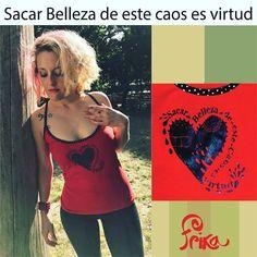 Buen jueves Frikas!. Ponete bella y saca virtud de este caos. Amamos a Cerati nuevas estampas con las canciones que amamos y nos hacen bien. #photooftheday #beautiful #fashion#love #frika_ropalinda #ropadediseño #Argentina #ropa#cerati #ventas