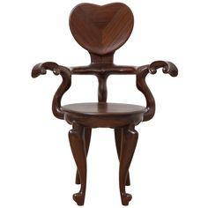 Gaudi Casa Calvet Easy Chair | From a unique collection of antique and modern armchairs at https://www.1stdibs.com/furniture/seating/armchairs/