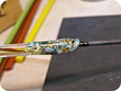 Art Jewelry Elements: Lampwork Tutorial: Frit Twisties