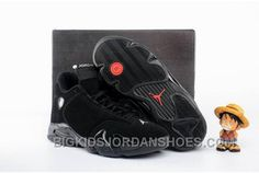 b45440dd8c4cb8 Air Jordan 14 All Black Shoes 2016 Discount