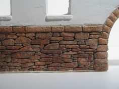 This is an excellent tutorial on painting a brick wall - Great detail