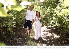 Couple shoot in the woods | Photo: Jenni Elizabeth Photography & Design, Dress: Kluk CGDT