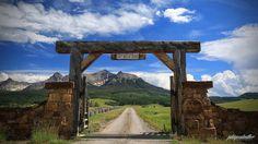 last dollar ranch   Last Dollar road from Ridgeway to Telluride, Colorado