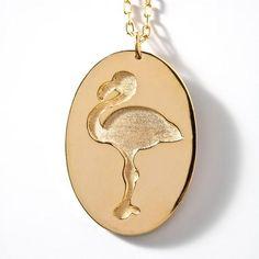 Colar Flamingo Ouro - R$81.00