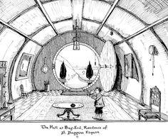 Skynerd :: Wiincker: Bilbo Baggins - A história em modo visual. [1937: Desenhos originais de J. R. R. Tolkien]