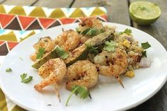 Chili Lime Grilled Shrimp with Quinoa Pilaf