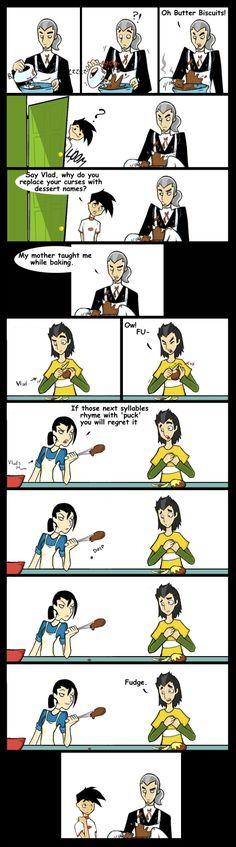 Origins of Pastry Swearing by DinKelion.deviantart.com on @deviantART