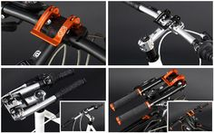 Have you tried the A.H.S. folding handlebars? - Bike Forums