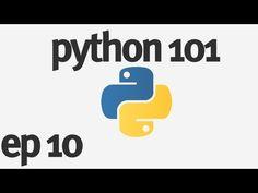 ▶ Python 101 - Making a Window - YouTube