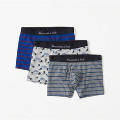 fe03af2af942b Abercrombie & Fitch Boxer Briefs ($36) ❤ liked on Polyvore featuring men's  fashion, men's clothing, men's underwear, stripe multipack and striped boxer  ...