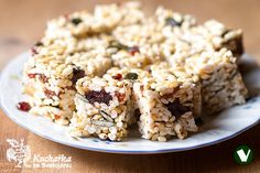 Kuchařka ze Svatojánu: BURISONKY Krispie Treats, Rice Krispies, Healthy Snacks, Cereal, Breakfast, Food, Pizza, Meal, Health Snacks