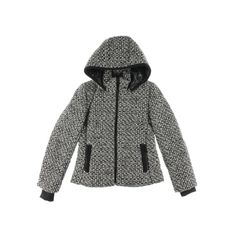 Andrew Marc Womens Wool Blend Hooded Coat