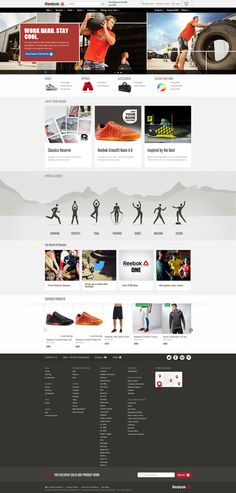 Reebok Online Shop.  Worthy of a mention is the accompanying 2014 Lookbook: //lookbook.reebok.com/fw/womens-training/look1