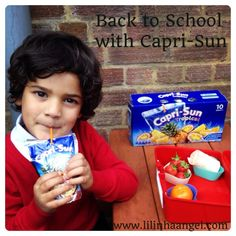 Back to School: Healthy Lunchboxes with Capri-Sun #CapriSunSchool #shop