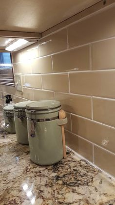 Tan Backsplash