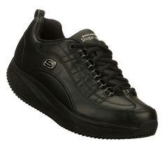 Women's Skechers Shape Up Xwear - Black Black Shoes, All Black Sneakers, Skechers Shape Ups, Mens Fashion, Athletic, How To Wear, Bags, Black Loafers, Moda Masculina