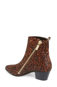 Leopard booties for fall.