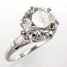 2 Carat Vintage Ring