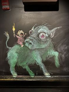 Beware the Fire of Youth and their Side Eye Steed Street Art News, 3d Street Art, Street Art Graffiti, Graffiti Artists, David Zinn, Abstract Sculpture, Sculpture Art, Metal Sculptures, Chalk Photography