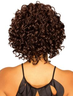 Stunning Curly Hair Bob Hairstyles For Black Women-2