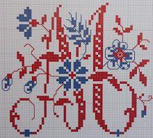 """Made by Marijke """"Steekjes en kruisjes""""."""