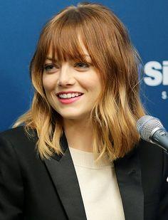 Makeover Alert! Emma Stone Got Bangs   | Daily Makeover