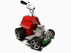 Minicarsbr: Snoopy Hot Wheels 2014