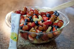 Blueberry Peach Fruit Salad with Thyme | Recipes | Pinterest | Fruit ...