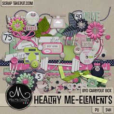 Healthy Me - Element Pack
