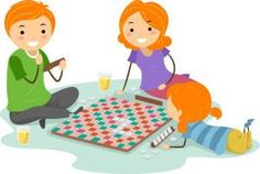 """Sometimes children get the most satisfaction from a game which they have made themselves - whether it be a simple board game invented with their own rules, to a full scale beanbag toss game which can be used for years. We have lots of ideas for """"Make your own games"""" here. When you start the kids off making their own game, try to step back a bit if you can and let them lead with their imagination if at all possible. The ideas and rules they come up with might not be conventional, but..."""