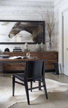 Lifestyle : Equestrian design interior.