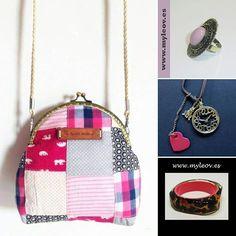 Novedades de la semana en nuestra web www.myleov.es #myleov #moda #bolsos #bag #anillo #brazalete #collares #accesorios #complementos #bisuteria #boquilla #frogmouth #patch #color #retro #vintage #rosas