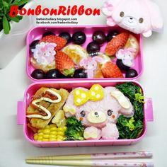 Karenwee's Bento Diary: Bento2015#Mar16~BonbonRibbon Bento