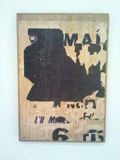 Mimmo Rotella, L'8 Marzo (1958)
