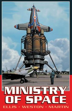 Ministry of Space by Warren Ellis (Image Comics)