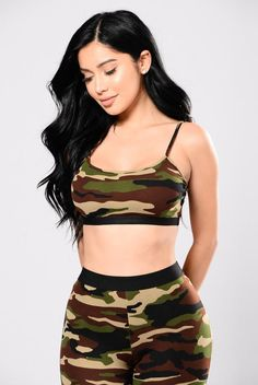 Dessie Top - Army