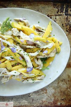 Mango Chicken Salad with Honey Lime Dressing by Heather Christo, via Flickr
