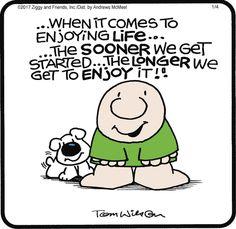 Ziggy by Tom Wilson & Tom II for Jan 4, 2017 | Read Comic Strips at GoComics.com