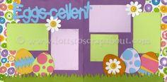 Eggs-cellent Scrapbook Page Kit [eggscellent12] - $5.99 :: Lotts To Scrap About - Your Online Source for Scrapbook Page Kits!