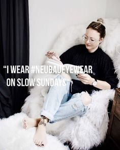 Hurrah for slow Sundays right?! Im planning on getting stuck into a good book today & then heading out to the beach with my camera...if you missed my whats my bag post on the blog theres some Sunday reading for you & I explain why Im loving my #neubaueyewear so much...what are you reading at the moment? #momentswithsunday #ad