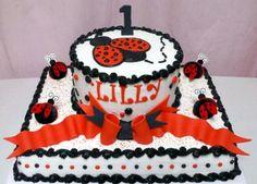 Ladybug Sheet Cake | Sheet Cakes