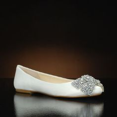 55269f0ff80 Ever by Betsey Johnson Wedding Shoes at My Glass Slipper