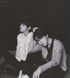 Jimin and Taehyung bts Jung Kook Bts, Jung Hoseok, Bts Taehyung, Bts Bangtan Boy, Jikook, Love Yourself 轉 Tear, Dramas, Bts Concept Photo, Bts Vmin
