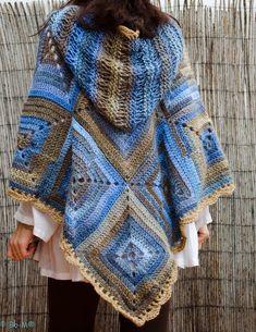 crochet hoodie jacket kauni - Google-søk
