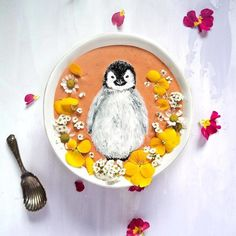 Hazel Zakariya - художница из Новой Зеландии, создающая свои картины с использованием продуктов питания. Она использует коктейли, которые  делает из сливок, молока, фруктов и ягод, в качестве основы и краски с кокосовым кремом, миндальным молоком, специями, травами и специями.  #Abbigli #рукоделие #хобби #креатив #handmade