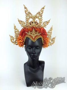 Gold Crown Headdress
