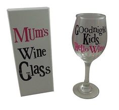 #Bright side #mum's wine #glass - mothers day gift for mum, baby shower friend gi,  View more on the LINK: 	http://www.zeppy.io/product/gb/2/131431568523/