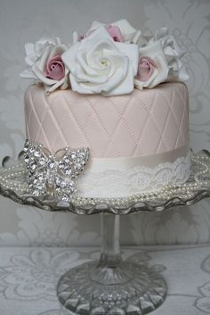 Vintage wedding cake - My wedding ideas