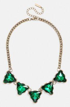 BaubleBar 'Crystal Triad' Collar Necklace | Nordstrom