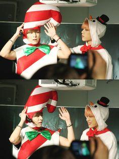 Jaeho & Yijeong | History Tower Records, Korean Music, Asian Boys, Kpop, History, Happy Holidays, Funny, Historia, Happy Holi